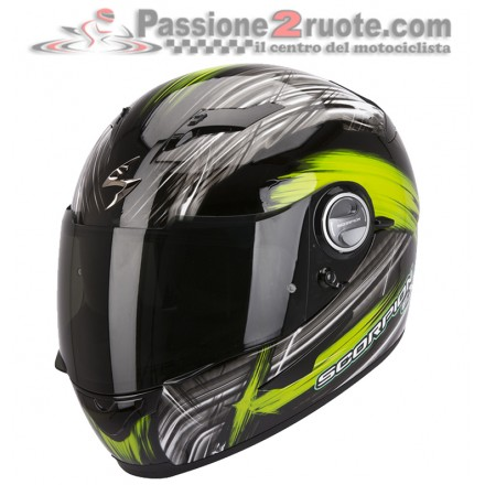 Casco Scorpion Exo 500 Air Ewok black green