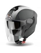 casco jet airoh hunter moto helmet casque