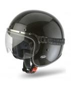 casco jet airoh garage vintage scrambler cafe racer helmet casque