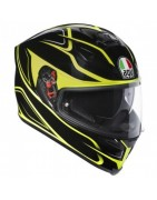 casco integrale moto agv k5 s pinlock helmet casque fibra fiber
