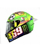 casco integrale agv pista gp r helmet casque racing