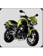 accessori moto triumph street triple