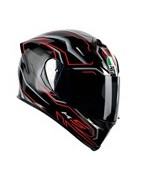 casco integrale agv k5 helmet casque racing fibra