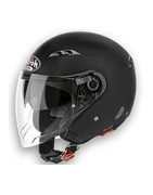 casco moto scooter airoh jet city one helmet casque